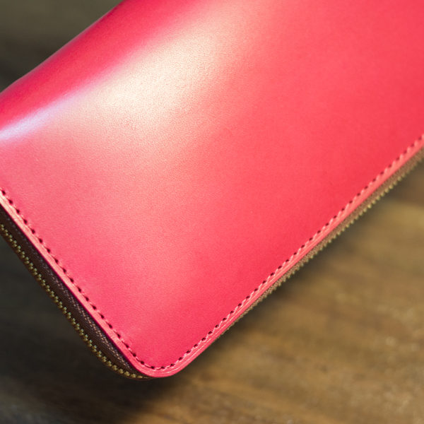 【NEW】ファスナー長財布の新色です。
