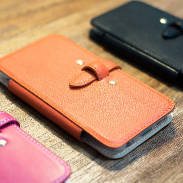 手帳型iPhoneケースのオーダー