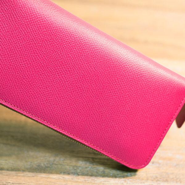 【NEW】ファスナー長財布の新色作りました。