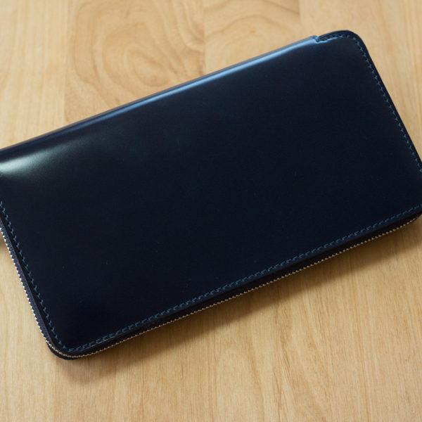 【ショップ更新】レーデルオガワ・コードバン長財布をアップしました。