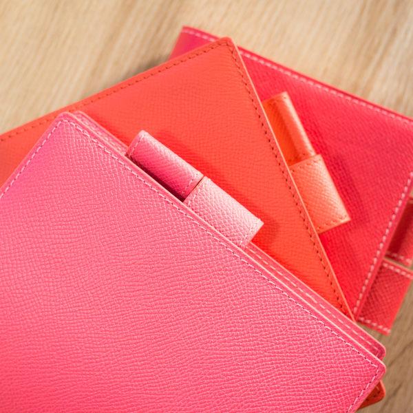 【ショップ更新】ヴォー・エプソンのほぼ日手帳カバー、ローズ系3色アップしました。