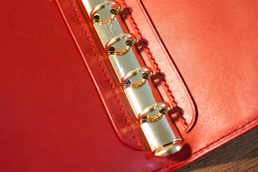 赤いシステム手帳3