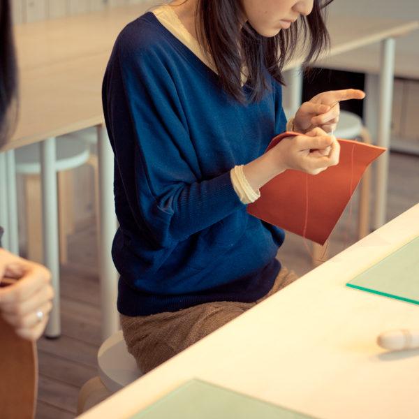【告知】手縫いの革教室、金曜夜クラスOPENします!