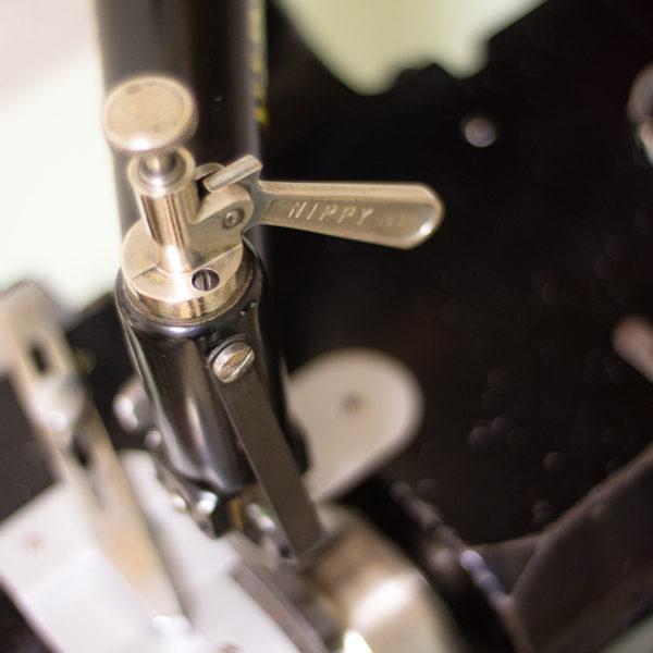 革漉き機のメンテナンス