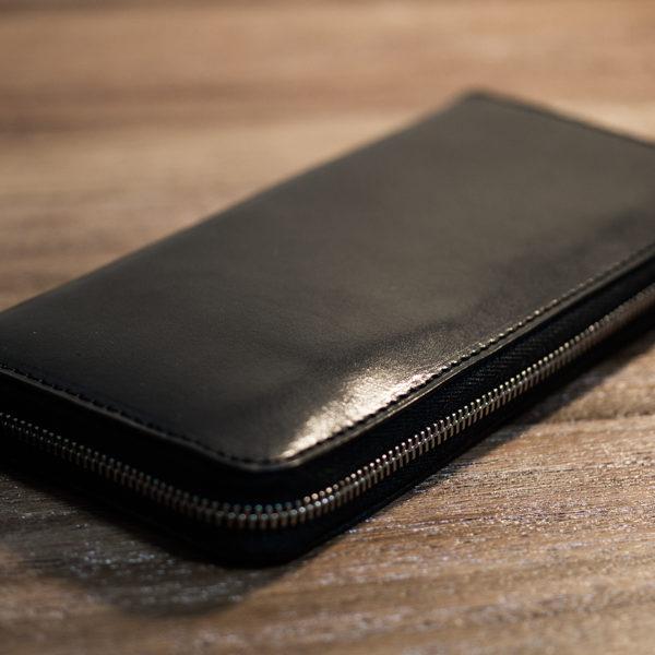【NEW】ラウンドファスナー長財布、できました。