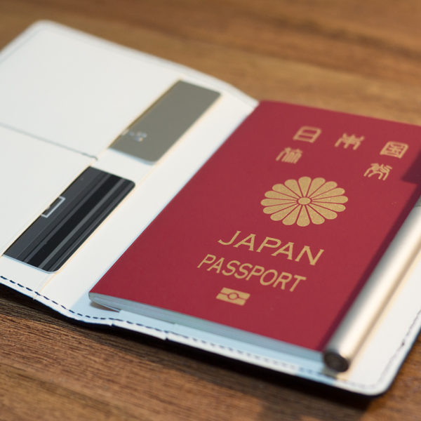 パスポートケースのオーダー