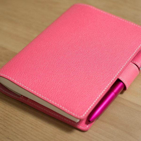 【ショップ更新】ローズアザレのほぼ日手帳カバーをアップしました。