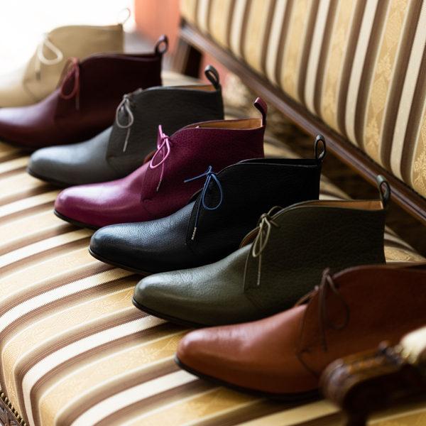 革靴のオーダーメイドを始めます。