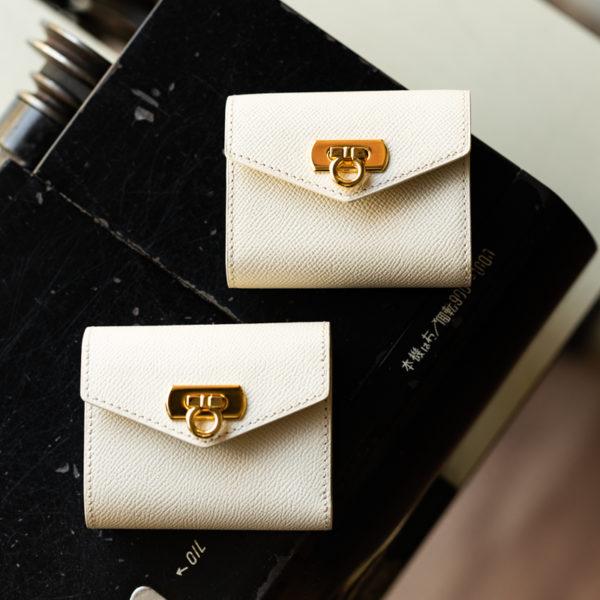 【新商品】コンパクトな二つ折り財布とカードケース
